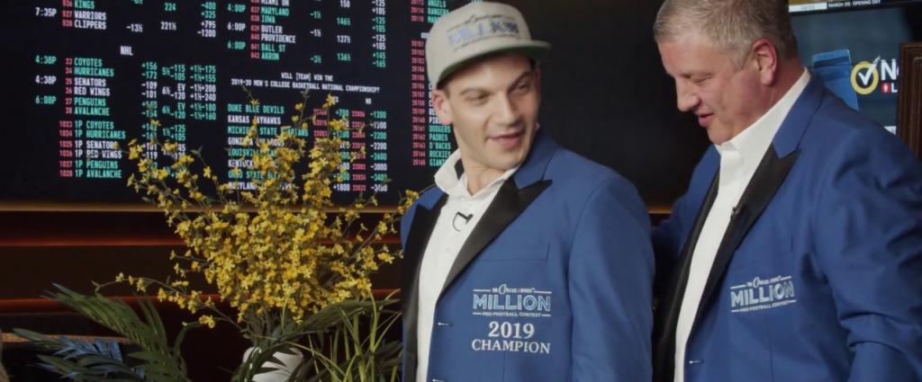 nfl handicapping contest circa millions winner